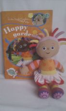 Adorable Happy Garden Sticker Book & In the Night Garden Upsy Daisy Plush Doll